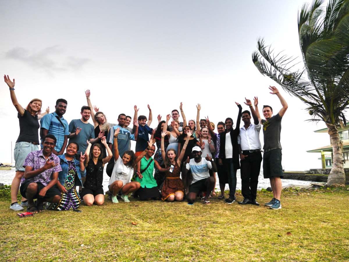 Outgoing Fijian and German Delegation