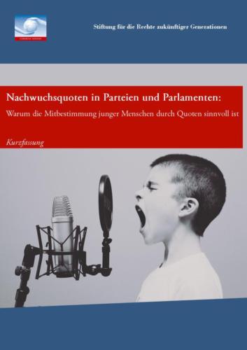 Nachwuchsquoten in Parteien und Parlamenten – Kurzfassung (2015)
