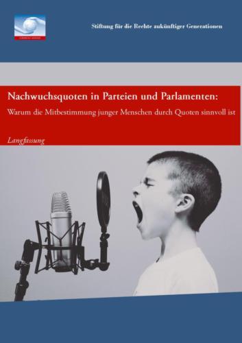 Nachwuchsquoten in Parteien und Parlamenten – Langfassung (2015)