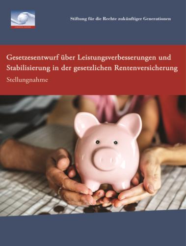 Stellungnahme Rentenentwurf 2018