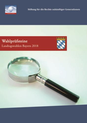Wahlprüfsteine Landtagswahl Bayern 2018