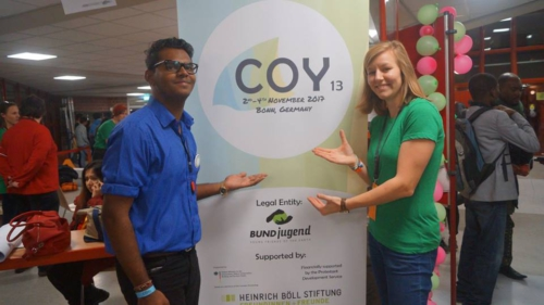 Incoming Conference of Youth COY13